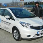Aleksandar Todorovic testira Nissan Note